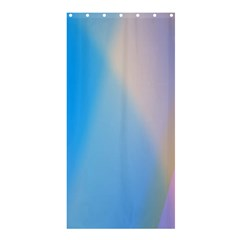 Twist Blue Pink Mauve Background Shower Curtain 36  x 72  (Stall)
