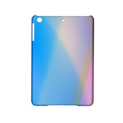 Twist Blue Pink Mauve Background iPad Mini 2 Hardshell Cases