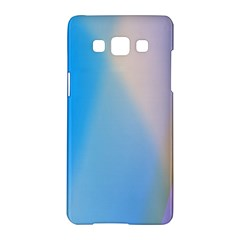 Twist Blue Pink Mauve Background Samsung Galaxy A5 Hardshell Case
