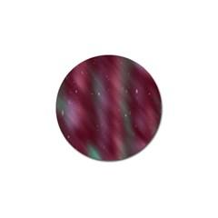 Stars Nebula Universe Artistic Golf Ball Marker