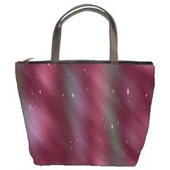Stars Nebula Universe Artistic Bucket Bags