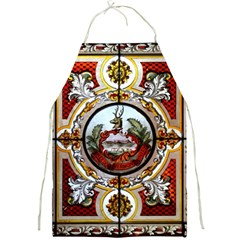 Stained Glass Skylight In The Cedar Creek Room In The Vermont State House Full Print Aprons