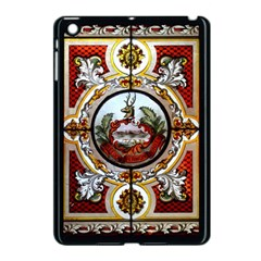 Stained Glass Skylight In The Cedar Creek Room In The Vermont State House Apple iPad Mini Case (Black)