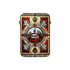 Stained Glass Skylight In The Cedar Creek Room In The Vermont State House Apple iPad Mini Protective Soft Cases