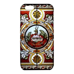 Stained Glass Skylight In The Cedar Creek Room In The Vermont State House iPhone 6/6S TPU Case