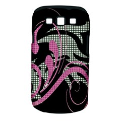 Violet Calligraphic Art Samsung Galaxy S III Classic Hardshell Case (PC+Silicone)