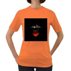 Strawberry Women s Dark T Shirt