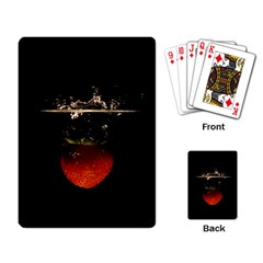 Strawberry Playing Card