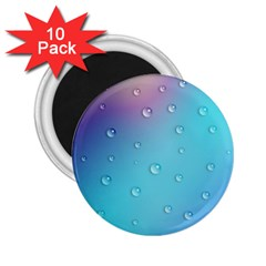 Water Droplets 2.25  Magnets (10 pack)