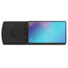 Water Droplets USB Flash Drive Rectangular (2 GB)