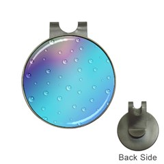 Water Droplets Hat Clips with Golf Markers