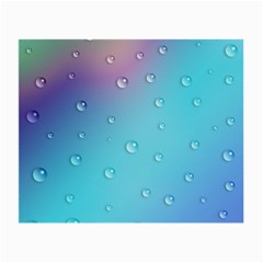 Water Droplets Small Glasses Cloth (2-Side)
