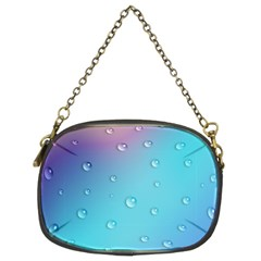 Water Droplets Chain Purses (Two Sides)