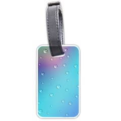 Water Droplets Luggage Tags (Two Sides)