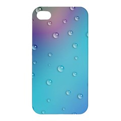 Water Droplets Apple iPhone 4/4S Hardshell Case