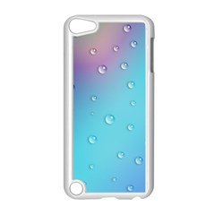 Water Droplets Apple iPod Touch 5 Case (White)