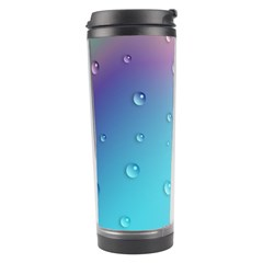 Water Droplets Travel Tumbler