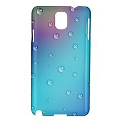 Water Droplets Samsung Galaxy Note 3 N9005 Hardshell Case