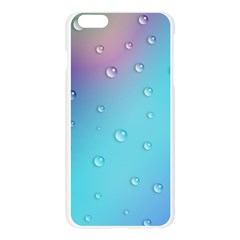 Water Droplets Apple Seamless iPhone 6 Plus/6S Plus Case (Transparent)