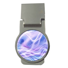 Abstract Graphic Design Background Money Clips (Round)