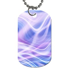 Abstract Graphic Design Background Dog Tag (One Side)