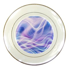 Abstract Graphic Design Background Porcelain Plates