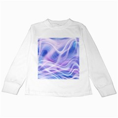 Abstract Graphic Design Background Kids Long Sleeve T-Shirts