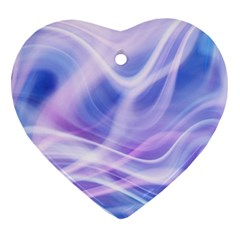 Abstract Graphic Design Background Heart Ornament (Two Sides)