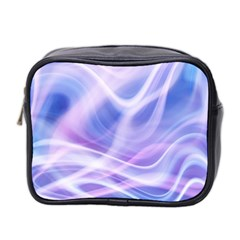 Abstract Graphic Design Background Mini Toiletries Bag 2-Side