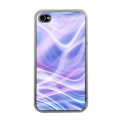 Abstract Graphic Design Background Apple iPhone 4 Case (Clear)