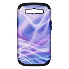 Abstract Graphic Design Background Samsung Galaxy S III Hardshell Case (PC+Silicone)