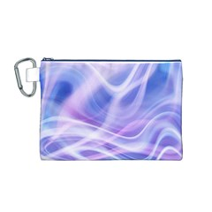 Abstract Graphic Design Background Canvas Cosmetic Bag (M)