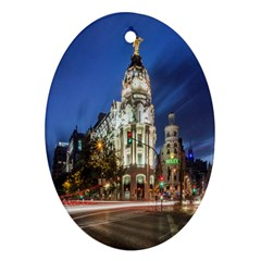 Architecture Building Exterior Buildings City Ornament (Oval)
