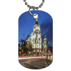Architecture Building Exterior Buildings City Dog Tag (Two Sides)