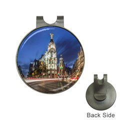 Architecture Building Exterior Buildings City Hat Clips with Golf Markers