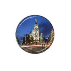 Architecture Building Exterior Buildings City Hat Clip Ball Marker (10 pack)