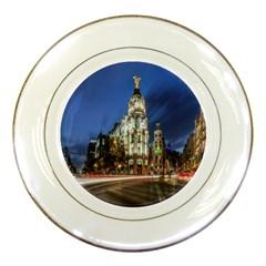 Architecture Building Exterior Buildings City Porcelain Plates