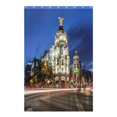 Architecture Building Exterior Buildings City Shower Curtain 48  x 72  (Small)