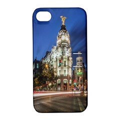 Architecture Building Exterior Buildings City Apple iPhone 4/4S Hardshell Case with Stand