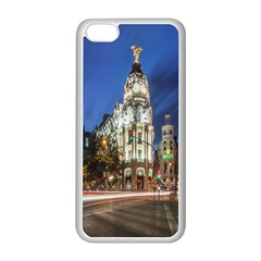 Architecture Building Exterior Buildings City Apple iPhone 5C Seamless Case (White)
