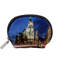 Architecture Building Exterior Buildings City Accessory Pouches (Small)