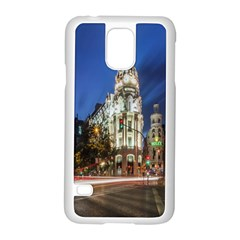 Architecture Building Exterior Buildings City Samsung Galaxy S5 Case (White)