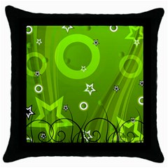 Art About Ball Abstract Colorful Throw Pillow Case (Black)