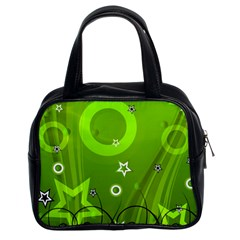 Art About Ball Abstract Colorful Classic Handbags (2 Sides)