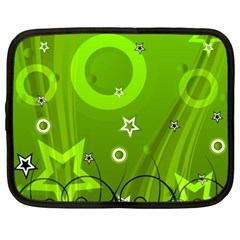 Art About Ball Abstract Colorful Netbook Case (XXL)