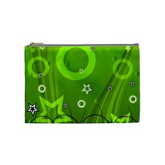 Art About Ball Abstract Colorful Cosmetic Bag (Medium)