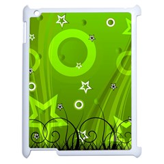 Art About Ball Abstract Colorful Apple iPad 2 Case (White)