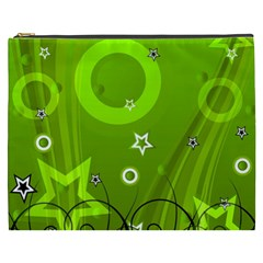 Art About Ball Abstract Colorful Cosmetic Bag (XXXL)