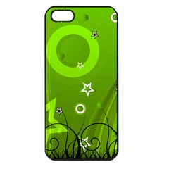Art About Ball Abstract Colorful Apple iPhone 5 Seamless Case (Black)