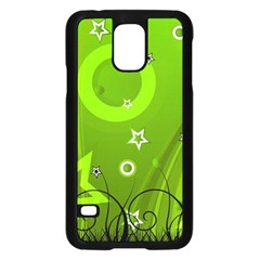 Art About Ball Abstract Colorful Samsung Galaxy S5 Case (Black)